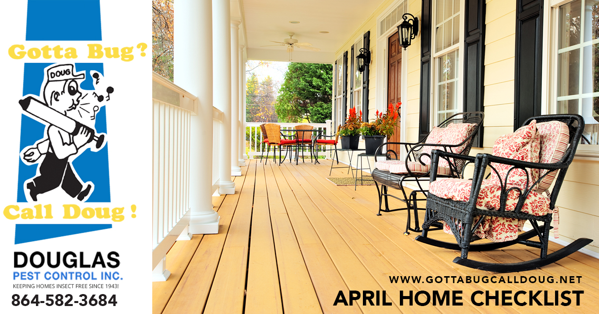 April Home Checklist