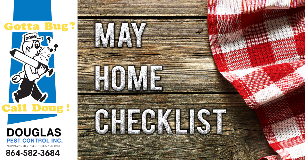 May Home Checklist