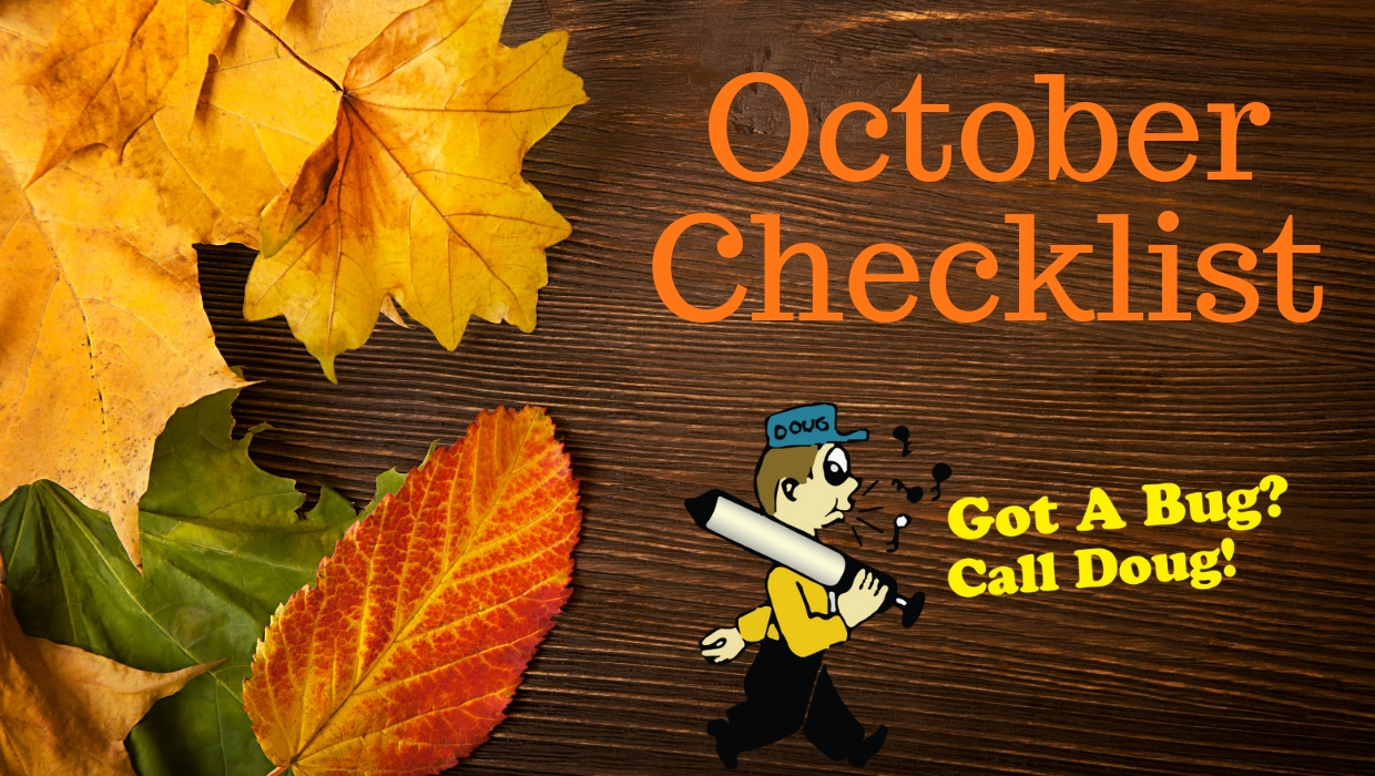 October Checklist